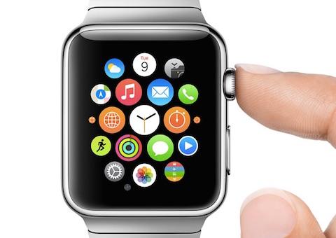 """Apple Watch: """"Glances"""" als neue, alte Form des Journalismus'. Bild: Apple"""