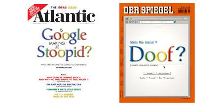 Atlantic-Titel im Juli, Spiegel im August 2008
