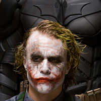Heath Ledger als Joker, Christian Bale als Batman: Folter als probates Mittel (AP Photo/Warner Bros.)