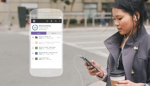 Eines der kommenden Angebote ist ein Dateien-Sync für Smartphones und Tablets. (Bild: BitTorrent)
