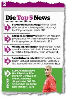 Top news im Blick am Abend