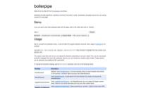 boilerpipe