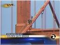 Golden Gate Brücke, Tibet-Protest San Francisco
