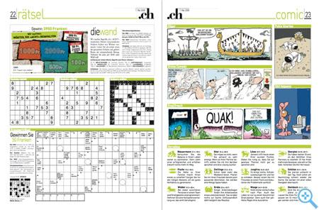 .ch jetzt mit Sudoku