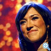 """Charlotte Roche auf der \""""Berlinale\"""" 2007: In der Amazon-Bestsellerliste. Weltweit.  (Bild Keystone/Markus Schreiber)"""