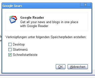 Shortcuts in Chrome erstellen
