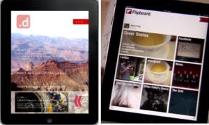 Sich nicht ganz unähnlich: Dailygraph und Flipboard