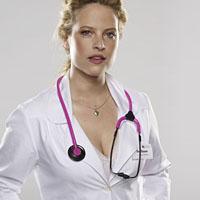 Dr. med Gretchen Haase: Diana Amft in der RTL-Serie (Bild RTL/Kraehahn)