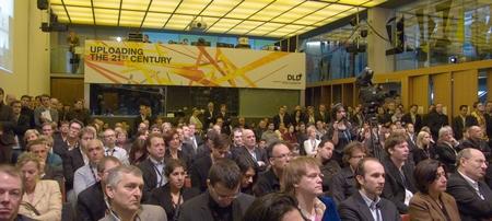 DLD 08 Conference Exploding Media Jochen Wegner W.D.Roth