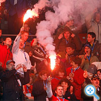 Euro-2008-Krawalle (Bild Keystone/Alessandro Della Bella)