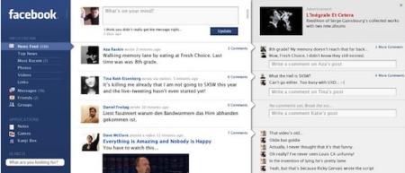 Facebook-Entwurf