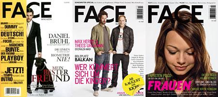Face-Magazin: Bisher erschienene Ausgaben