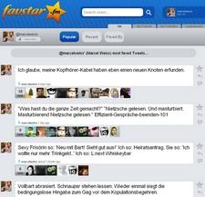 Die Favstar.fm-Seite von meinem Twitter-Account (Klick für große Ansicht)