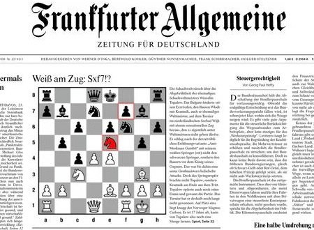 FAZ-Titelseite 24.1.2008