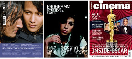 Cargo, Programm-Magazin, Cinema: Kunst, Kultur, Kommerz