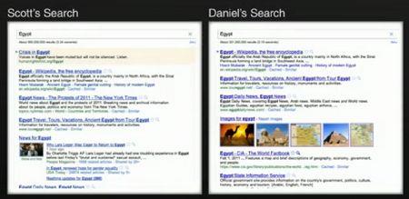 Zweimal Suche nach Ägypten