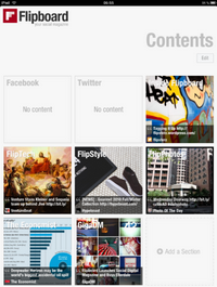 Flipboard in Aktion