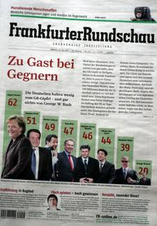 Frankfurter Rundschau Cover