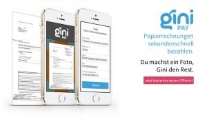 Gini Pay - iPhone-App kann Rechnungen automatisch bezahlen
