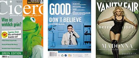 Grüne Magazine: Bildergalerie ansehen (6 Bilder)