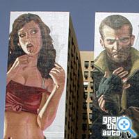 """Werbung für \""""Grand Theft Auto IV\"""" in Los Angeles: Computerspiele werden mittels vorab gefassten Thesen zurechtgefingert (Bild Keystone/Reed Saxon)"""