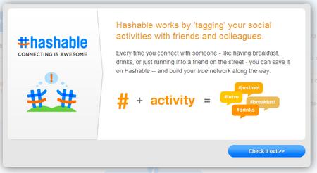 Hashable registriert jedes Zusammentreffen von Mitgliedern - und Dritten.