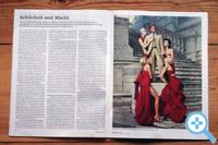 Modeschöpfer Valentino in der Weltwoche