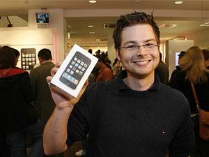 iPhone in Deutschland (Bild Keystone)