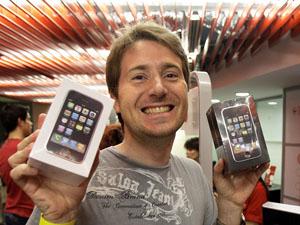 iPhone in Portugal (Bild Keystone)