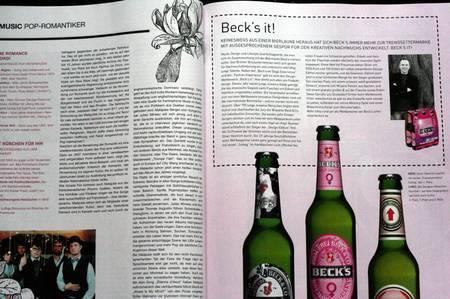 IQ Style Werbung Becks