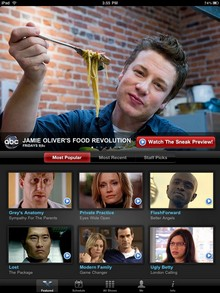 Disneys ABC zieht aufs iPad