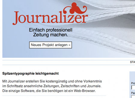 Journalizer im medienlese.com-Test