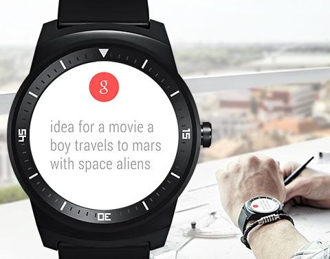 G Watch R: Neue Möglichkeiten der Informationsaufbereitung. Bild: LG
