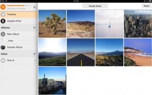 Loom auf dem iPad