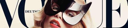 Claudia Schiffer auf dem Vogue-Cover: Handlichkeit, Haptik, Olfaktorik (Bild PR)