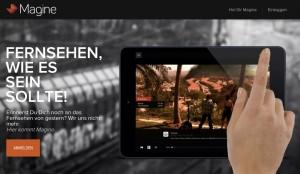 Zattoo-Konkurrent Magine: Live-TV mit Extra-Funktionen