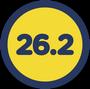 Marathon-Badge (26,2 Meilen)