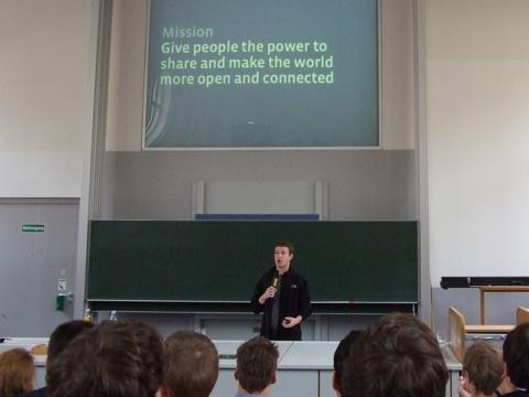 Mark Zuckerberg im Oktober 2008 in Berlin. (Bild: Jan Tißler)