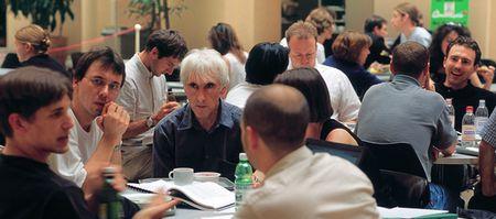 Mediengesellschaft 2009: Gefragt sind Diskussionen. (keystone)