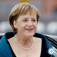Merkel in Oslo (Bild Keystone/EPA/KYRRE LIEN)