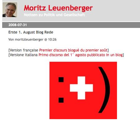 Screenshot moritzleuenberger.blueblog.ch