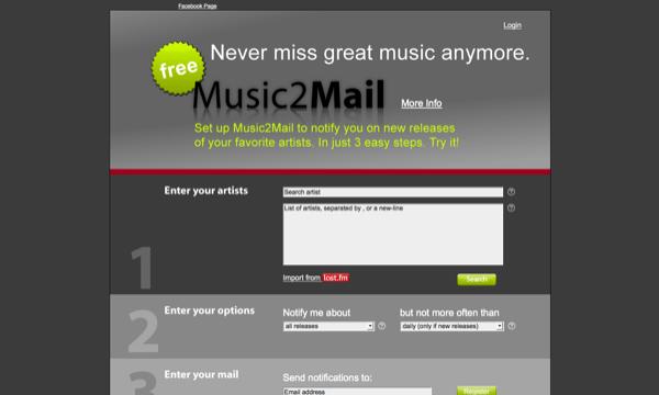 Music2Mail
