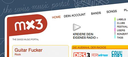 Schweizer Musikportal MX3: Sieg Heil?