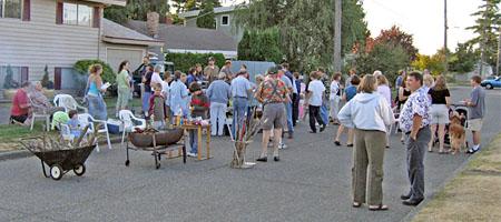 Nachbarn auf Block-Party (Chas Redmond, cc-Lizenz)