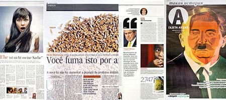 Ausgezeichnetes Design: Zehn Seiten aus fünf Zeitungen (Bildergalerie)