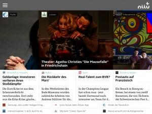Screenshot der niiu-App