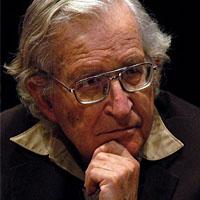 Protest als Aufgabe: Noam Chomsky (Keystone)
