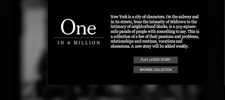 One in 8 Million: Einzigartige Geschichten, preisgekrönter Fotograf