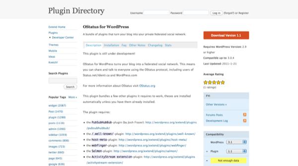 OStatus for WordPress