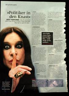 Ozzy Osbourne Interview